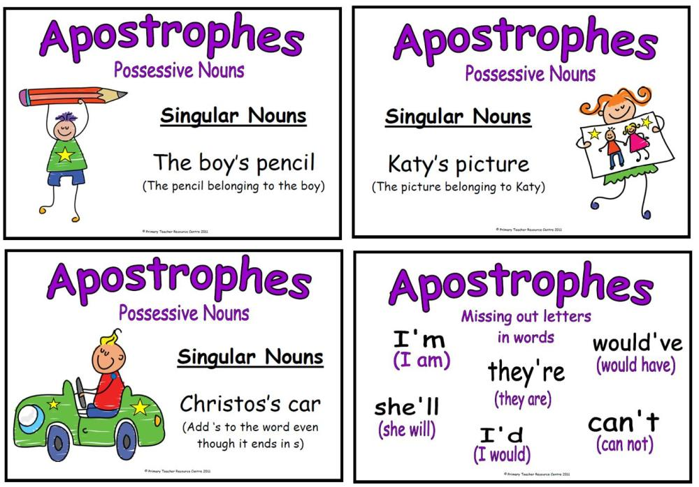 example of apostrophe in a sentence