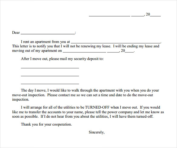 lease agreement early termination clause example