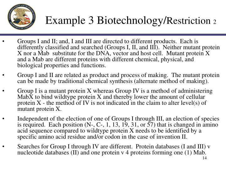 what is an example of biotechnology