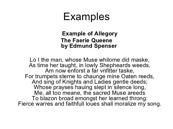 format of a poem example