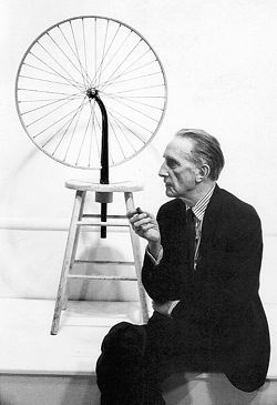 marcel duchamps bicycle wheel is an example of quizlet