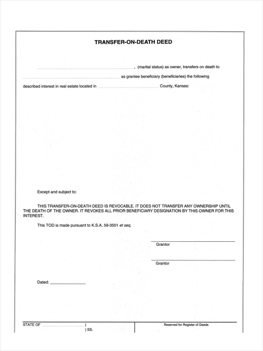 example of title deed south africa