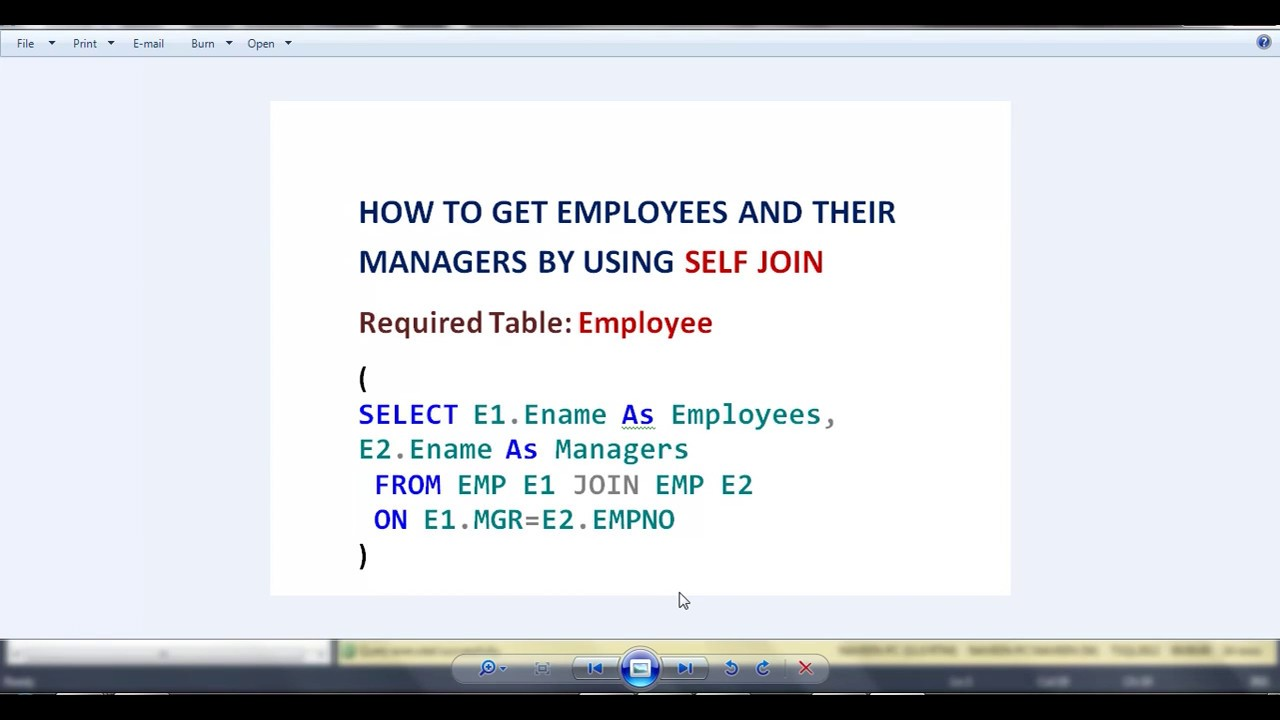 self join in sql example employee manager