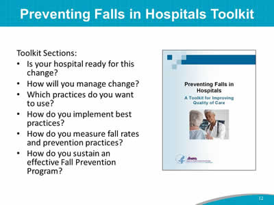 example incident report of patient fall in hospital