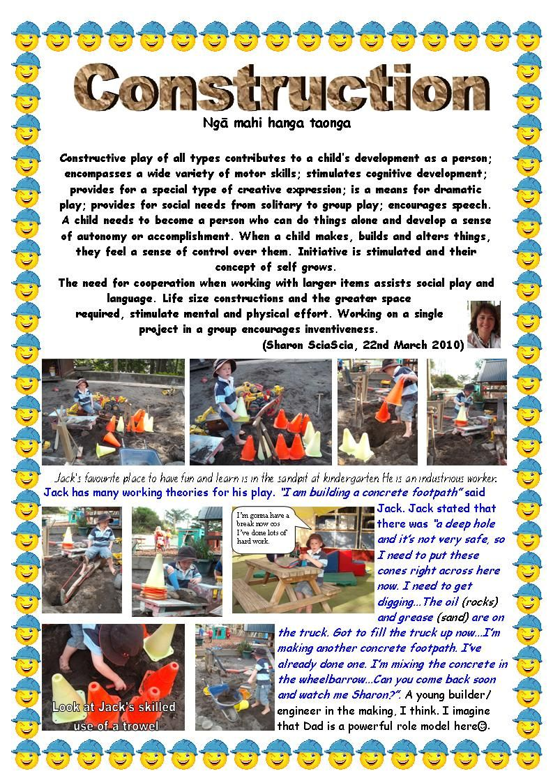 example of learning stories eylf