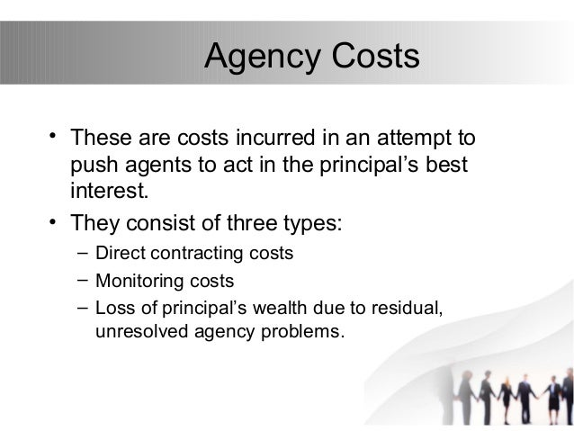 example of agency problem in financial management