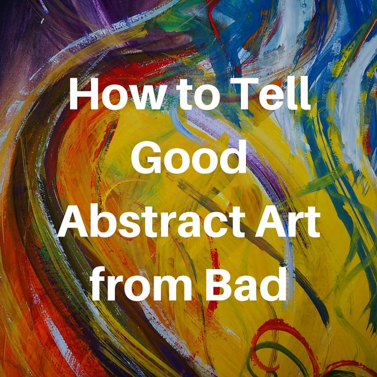 example of good and bad abstract