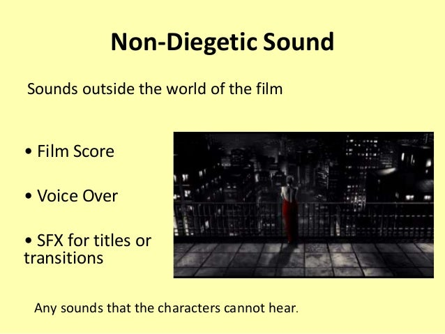 example of non diegetic sound in film