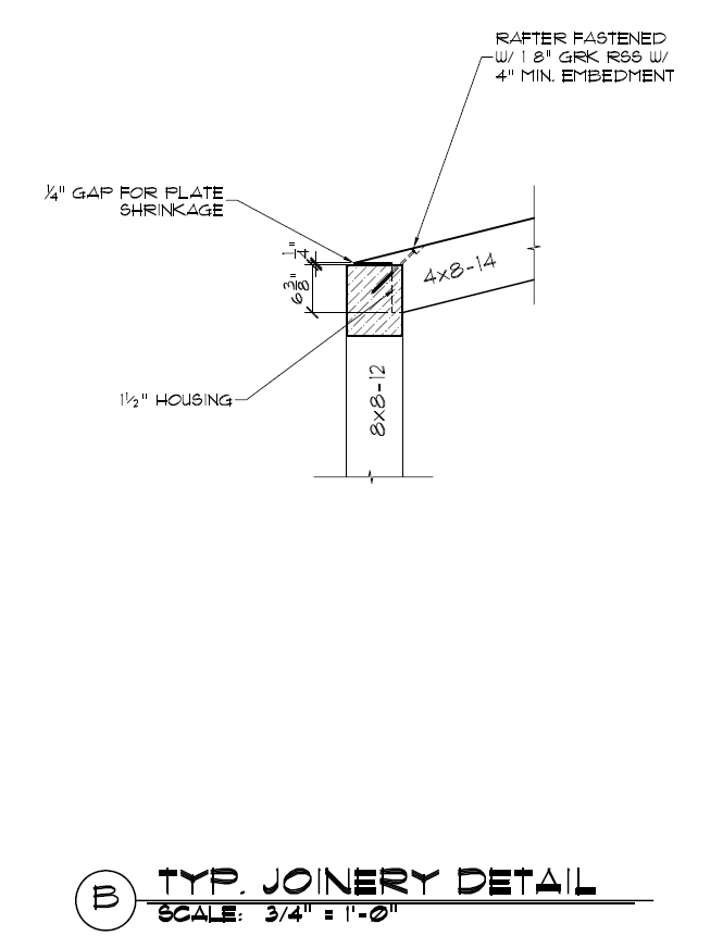 example of shed drawing plan