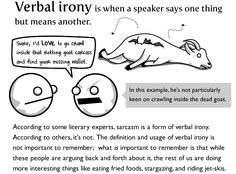 meaning and example of irony
