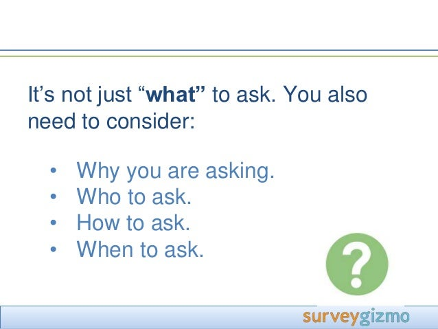 good survey questions to ask example