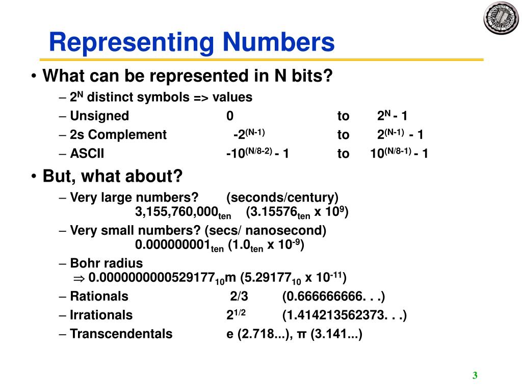 ieee standard floating point representation example