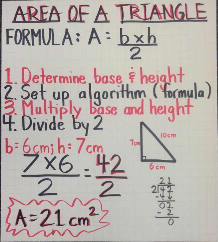 perimeter of a triangle formula and example
