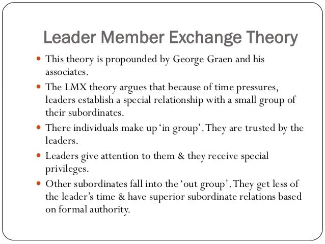 team leader example to member of the group