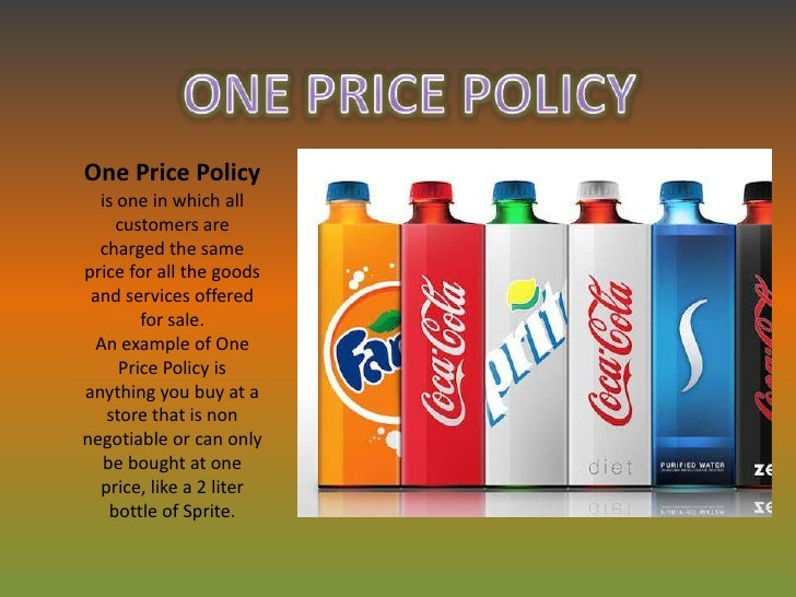 what is an example of a non price policy